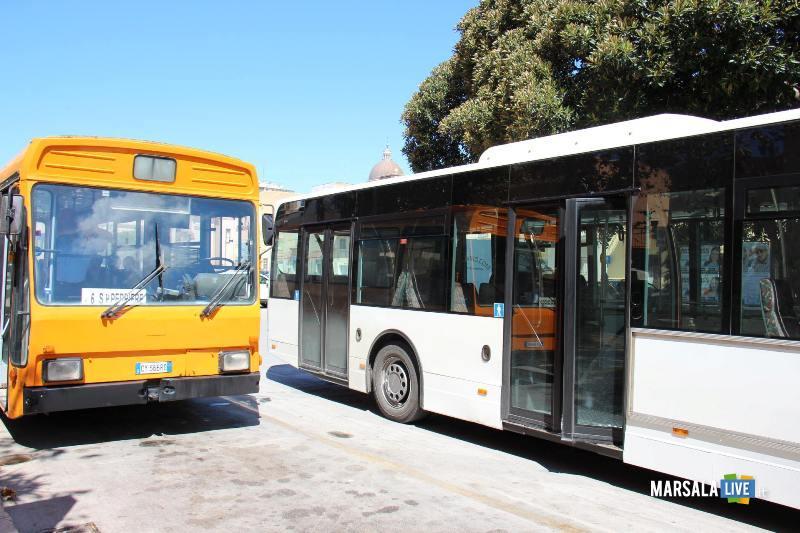 Marsala, trasporto bus