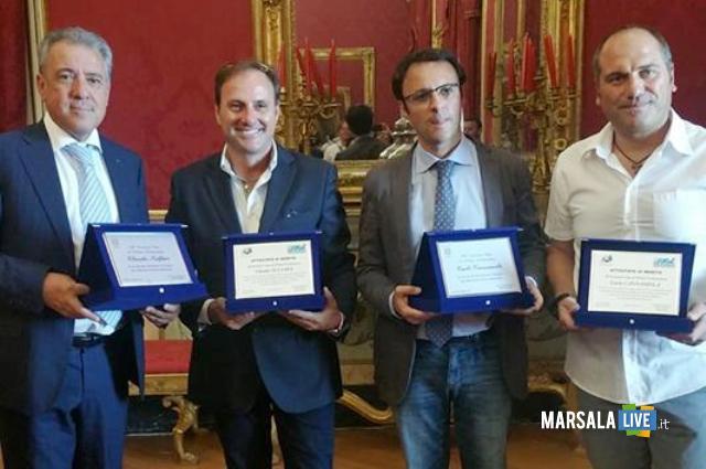 Oddo_premia agenti-Claudio Sulfaro e Carlo Cannamela
