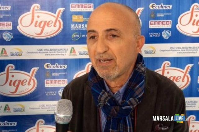 Sigel Marsala Volley presidente Massimo Alloro
