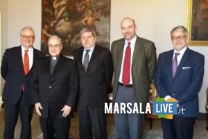da sx Cantini, Mogavero, Marziano, Rigillo, Tumbiolo