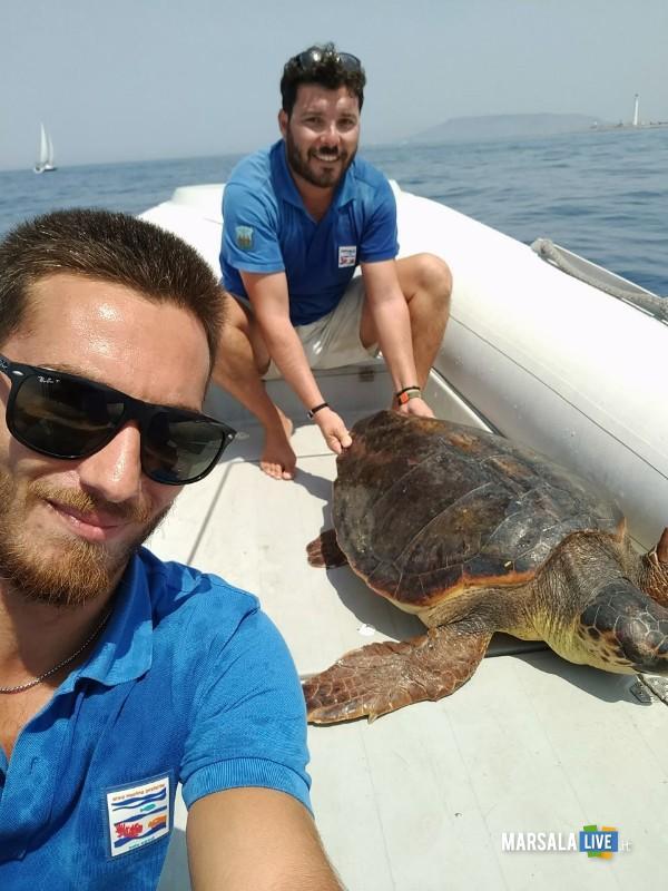 tartarughe marine Centro di Primo Soccorso AMP Isole Egadi