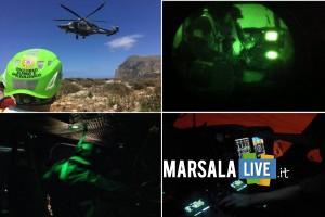 82 Centro C.S.A.R. e C.N.S.A.S. Sicilia recuperi notturni