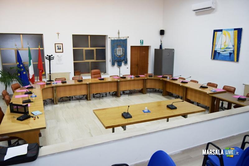 Aula consiliare Petrosino Consiglio comunale