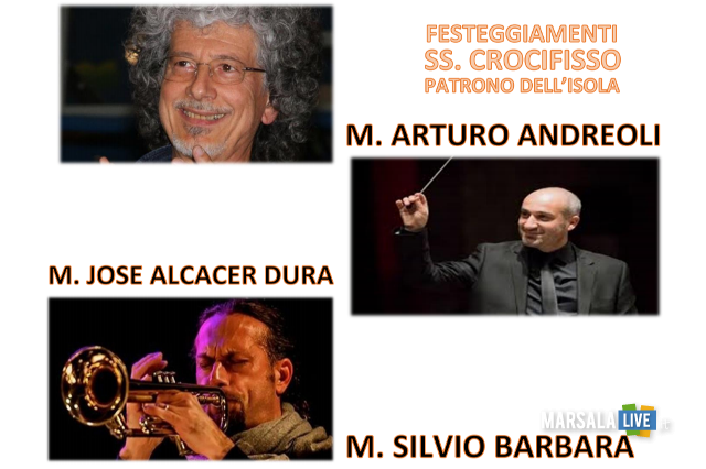 Favignana Gran concerto Banda in onore del Ss Crocifisso -