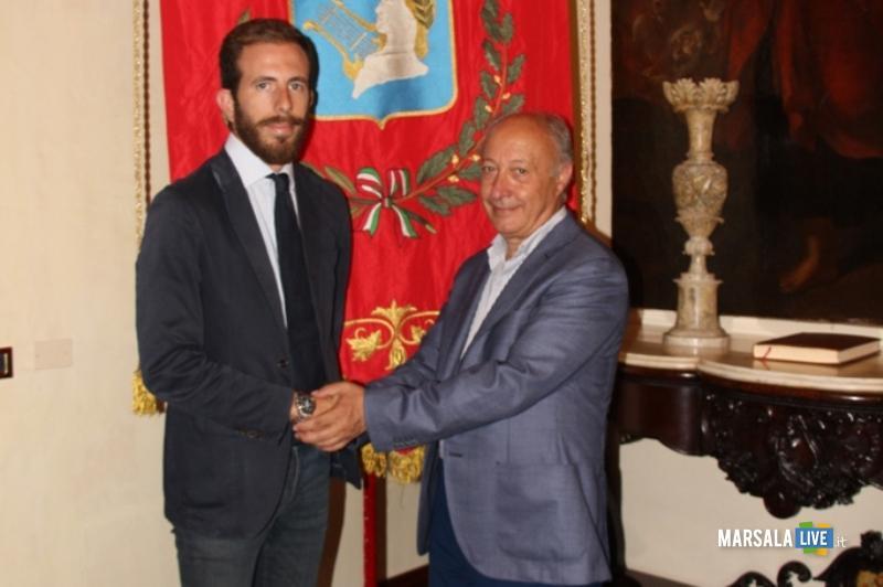 Il tenente dei Carabinieri Federico Minicucci lascia Marsala