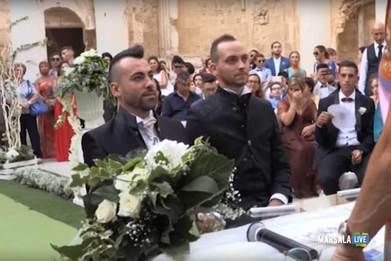 Peppe e Antonio gay mazara sposi