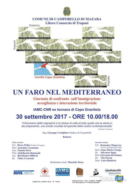 Un faro nel Mediterraneo_locandina 30.09.2017