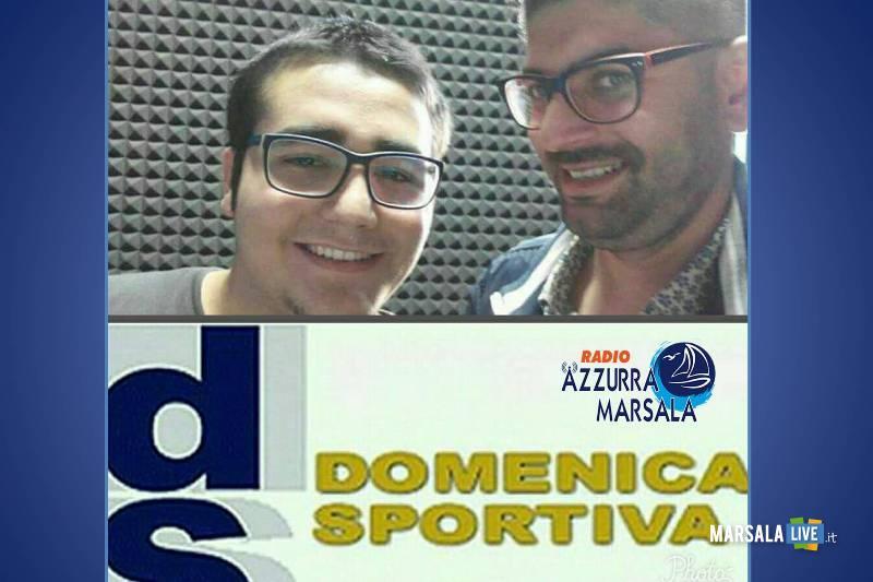 Vincenzo-Accardi-e-Daniele-Vinci-radio-azzurra-marsala-domenica-sportiva-