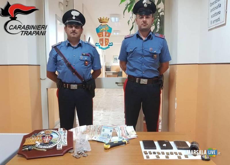 carabinieri OBONIYE PROSPER e NJIE BUBA
