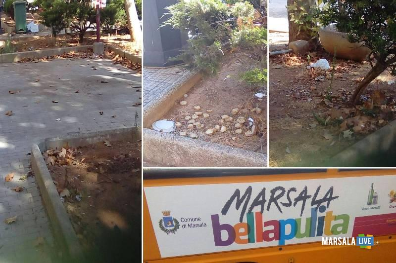 marsala bella pulita piazza del popolo