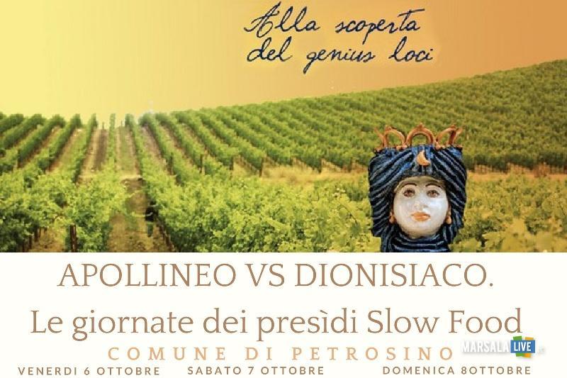 Apollineo versus Dionisiaco a petrosino 2017