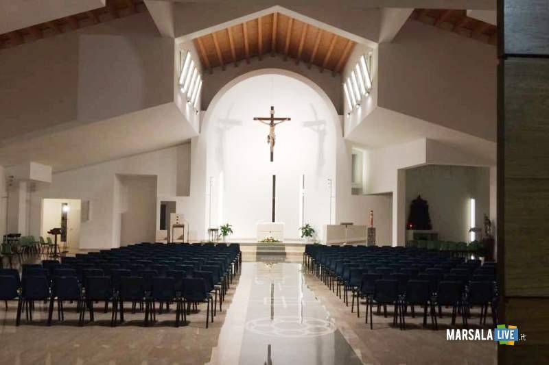 Chiesa Madonna di Fatima interno