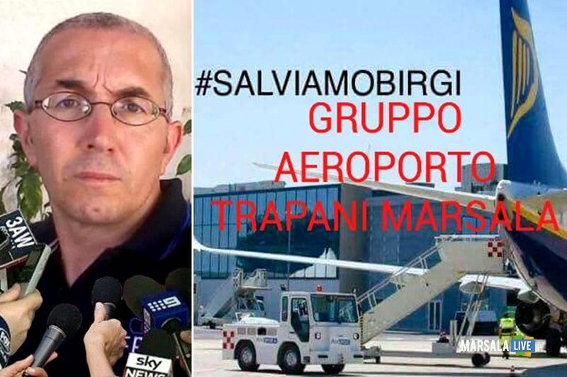 Giovanni Salvatore Montalto salviamo birgi aeroporto