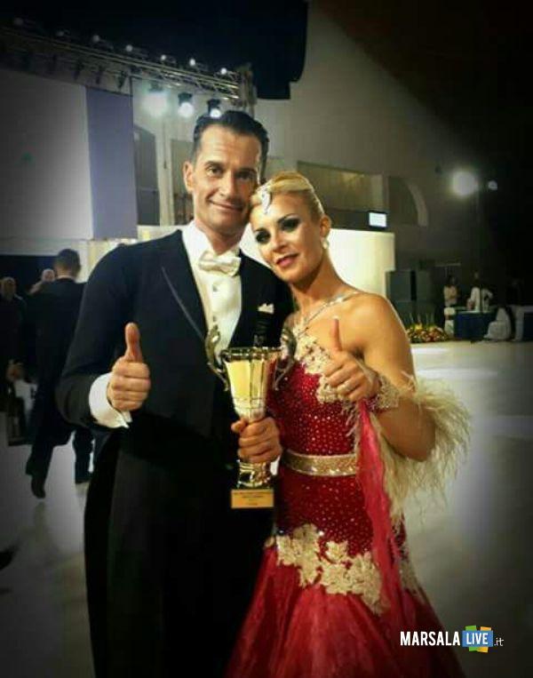 Ignazio Grignani e Ilaria Gianfranchi polvere di stelle campionato mondiale