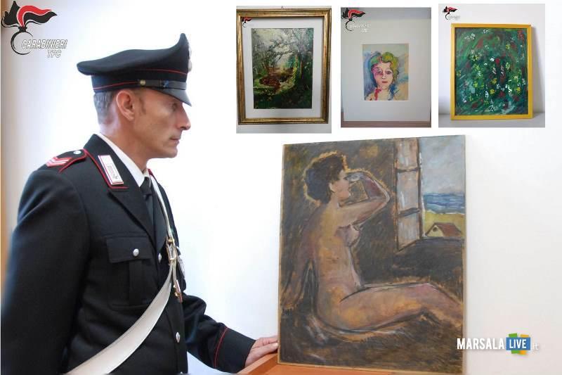 Marsala Carabinieri sgominano banda falsari arte contemporanea