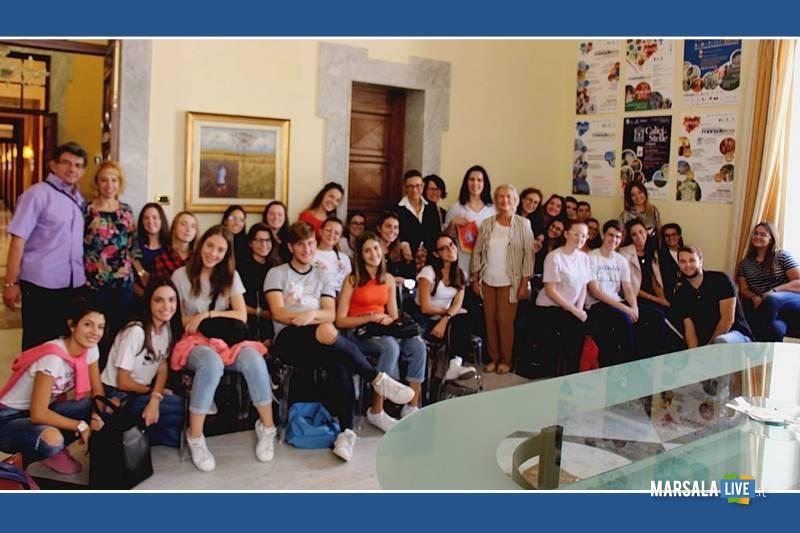 Studenti spagnoli a Marsala per scambi culturali