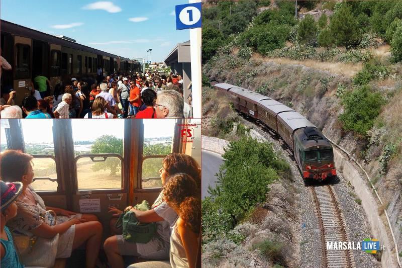 Treni storici del gusto da Trapani e Palermo fondazione FS