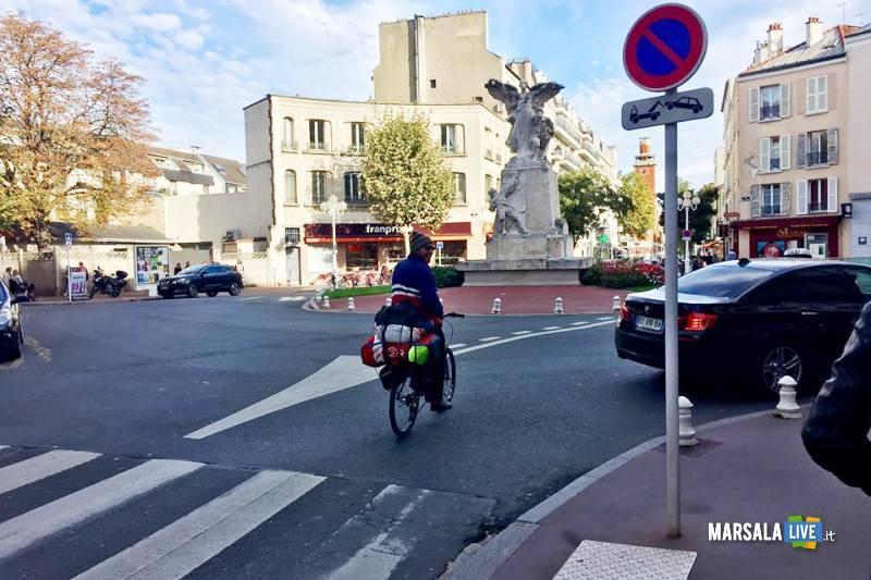 Vito Cusenza Marsala Parigi Manchester in bicicletta (4)