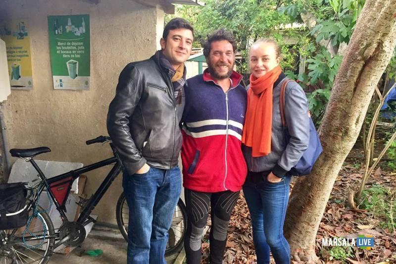 Vito Cusenza Marsala Parigi Manchester in bicicletta (5)