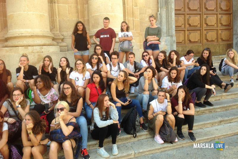 alunni dell ITET G. Garibaldi guide per un giorno