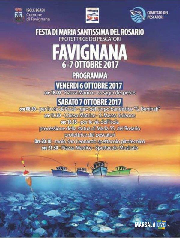 festa pescatori favignana