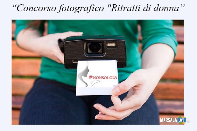 locandina concorso fotografico Ritratti di donna
