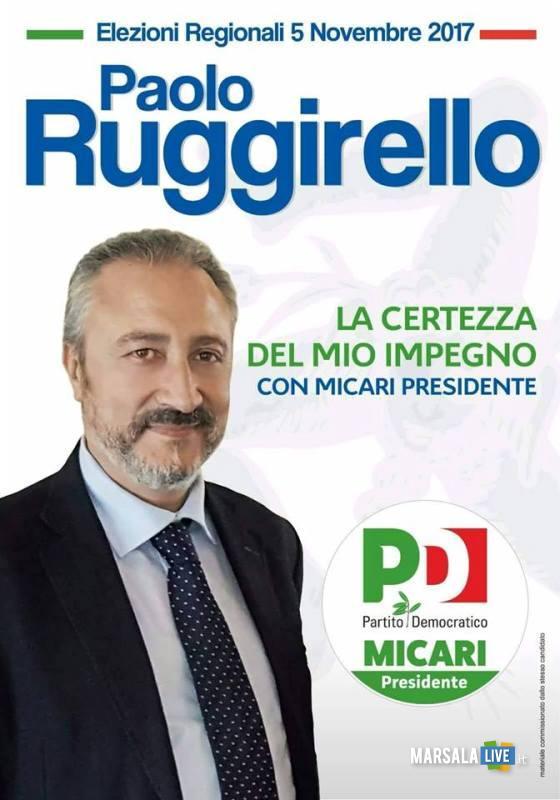 paolo ruggirello marsala elezioni 2017 sicilia pd