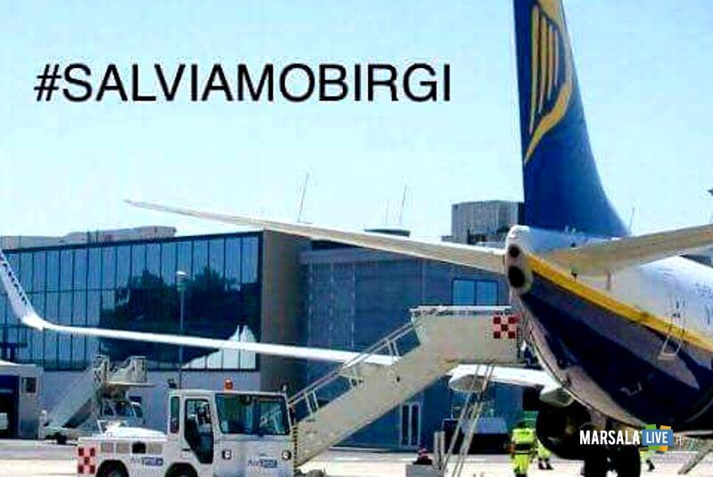 salviamo aeroporto birgi marsala trapani