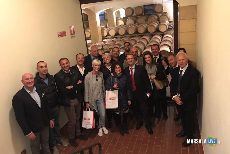 Andi presso le Cantine Caruso & Minini a Marsala-