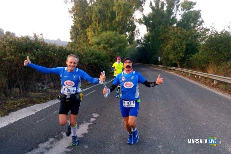 Atl. - Damiano Ardagna e Michele D'Errico alla 100 km della Val di Noto
