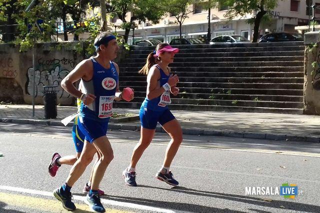 - Atl. - Maratona di Palermo - Ignazio Cammarata e Marianna Cudia