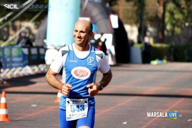 - Atl. - Pietro Paladino all'arrivo della Maratona di Palermo