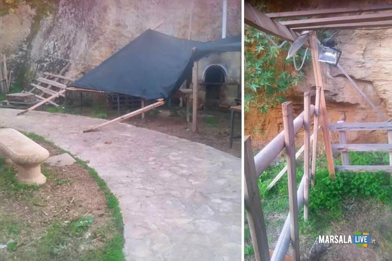 Atto vandalico a Rocca del Gallo