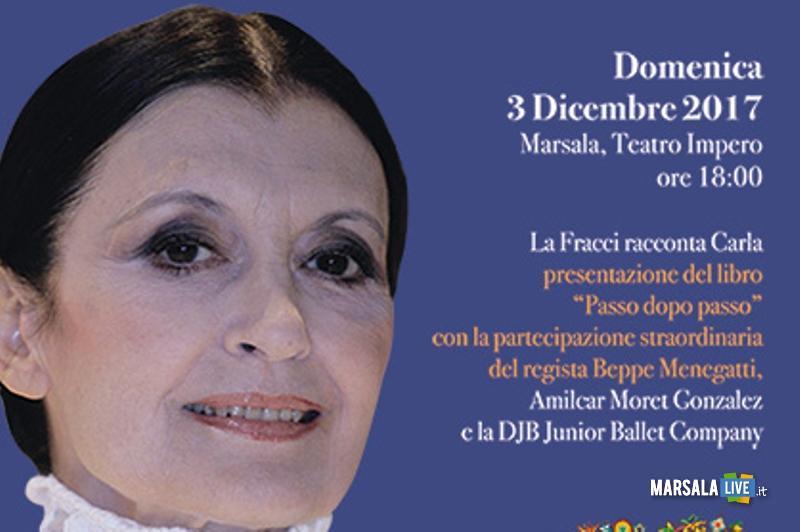 Carla Fracci evento Marsala