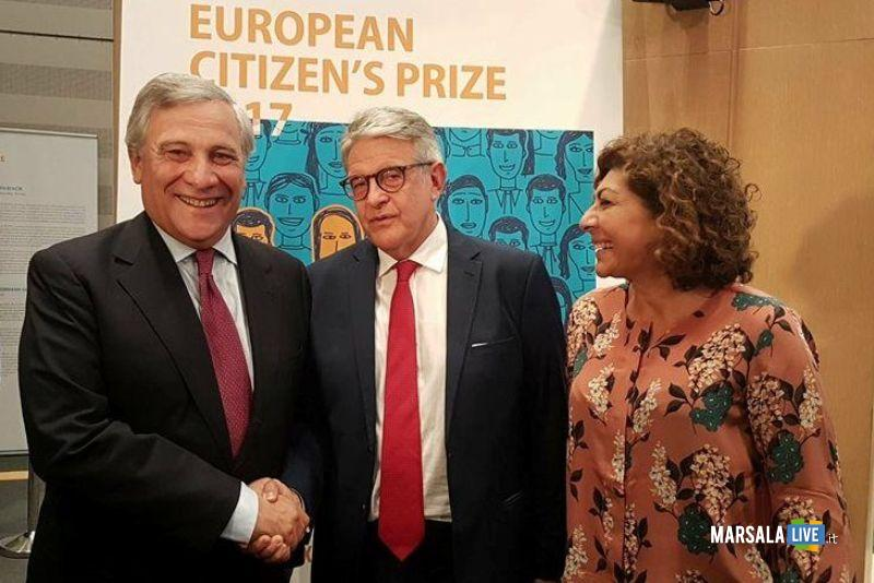 Dasx Pres Antonio Tajani_Giovanni Tumbiolo_On Michela Giuffrida