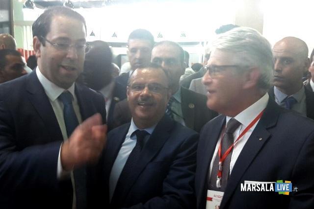 Dasx_PrimoMinistro Youssef Chahed_MinistroPescaTunisia Taieb_Giovanni Tumbiolo