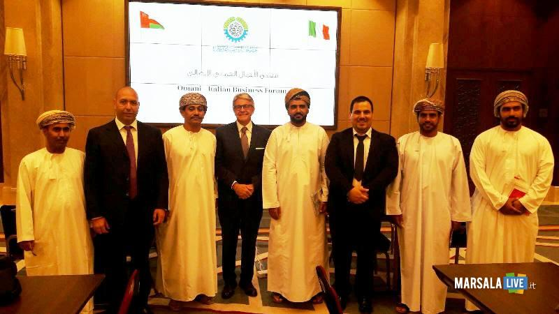 Imprenditori del Distretto Pesca al Business Forum in Oman