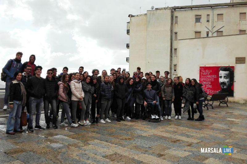 Liceo Scientifico Marsala a Salemi visita Museo della mafia (1)
