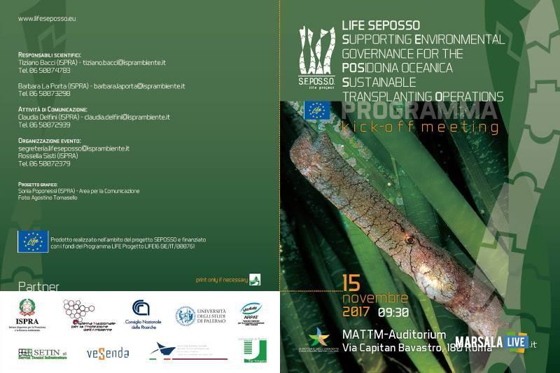 Life Seposso Area Marina Protetta Isole Egadi Posidonia
