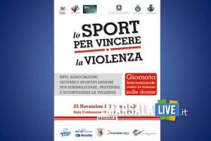 Lo sport per vincere la violenza marsala
