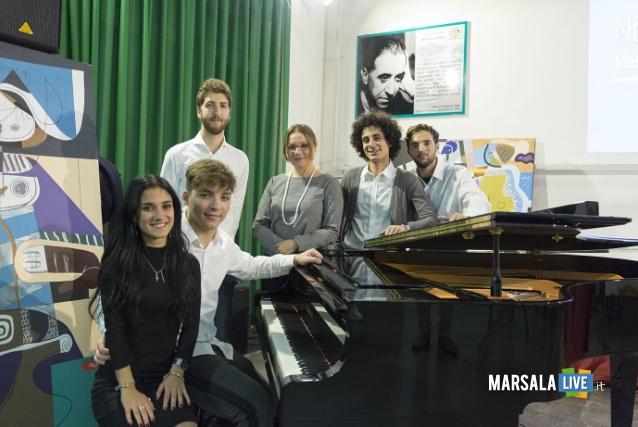Schery Costanza, Giacomo Romano, Aldo Popolano, Professoressa Rosaria Bonfiglio, Dario Amoroso, Andrea Sortino