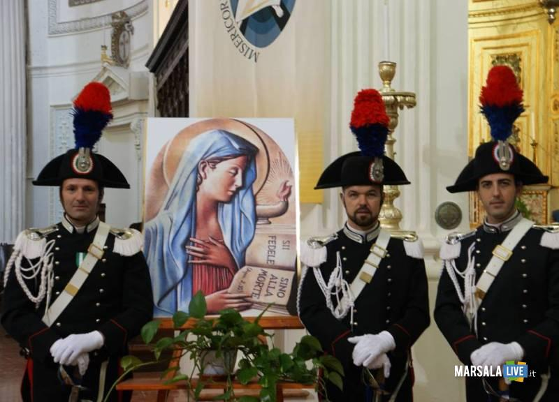 Virgo Fidelis Carabinieri Cattedrale Trapani (1)