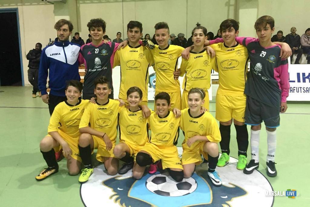 giovanissimi del Marsala Futsal