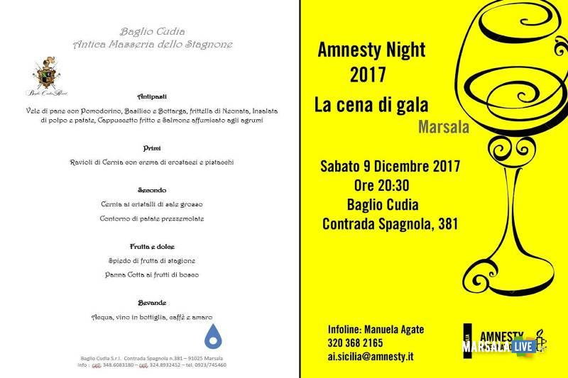 Amnesty Night Marsala