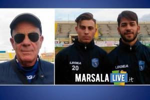 Angelo Di Maggio, Marco Ciancimino e stefano lazzara marsala calcio