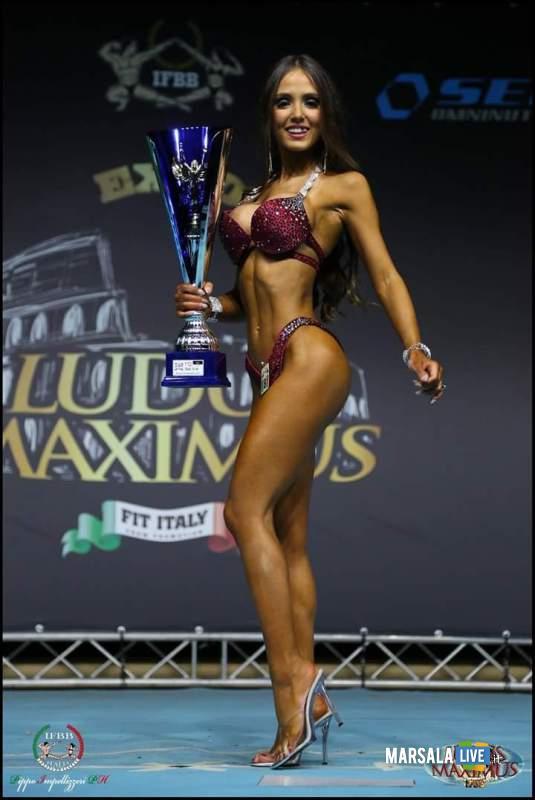 Francesca Marino vince il Ludus Maximus IFBB 2017