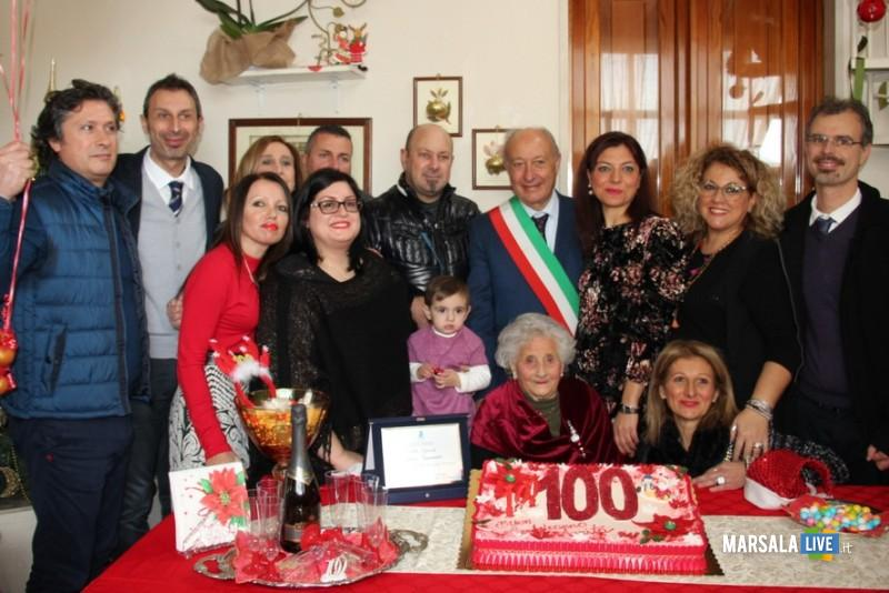 Marsala 100 anni anna guarrato