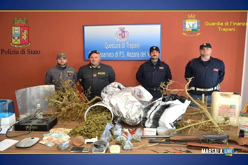 Operazione antidroga arrestato 24enne marsalese