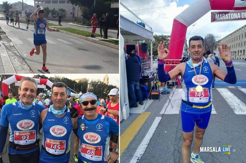 Atleti della Polisportiva Marsala Doc alla Maratona di Messina