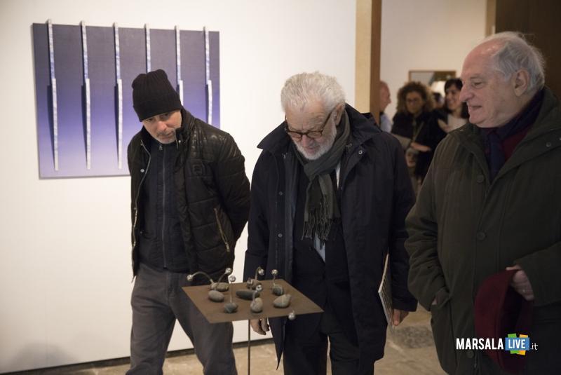Bruno Corà in visita a La Salerniana